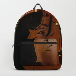 Cello bird music Backpack