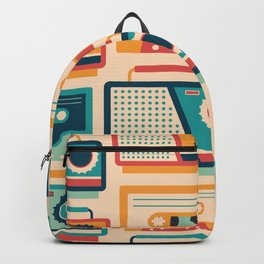 Audio Cassettes and Radios Backpack