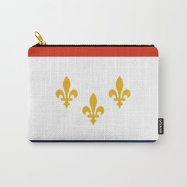 flag of new orleans,NOLA, Crescent City,Big Easy, Nawlins, jazz,Lousiana,french,cajun,treme Carry-All Pouch