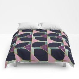 Ultra Deco 4 #society6 #ultraviolet #artdeco Comforters
