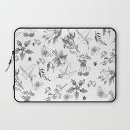 Hummingbirds and Flowers Laptop Sleeve