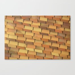 Anonymous Rooftop Canvas Print