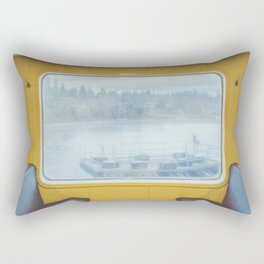 Bainbridge Ferry Rectangular Pillow