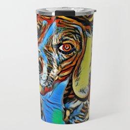 Dreaming Beagle Travel Mug