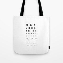 Look this! Tote Bag