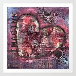 Permission Series: Imagine Art Print
