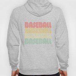 Baseball Vintage Design Hoody
