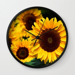 sunflower_34 Wall Clock