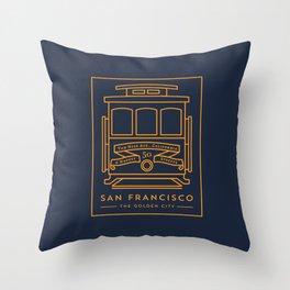 San Francisco 02 Throw Pillow