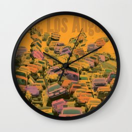 Love, Los Angeles Wall Clock