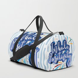 Inhale Positivity Duffle Bag
