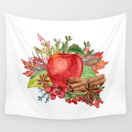 Apple Bouquet Wall Tapestry