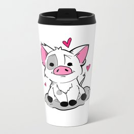This Little Piggy Metal Travel Mug