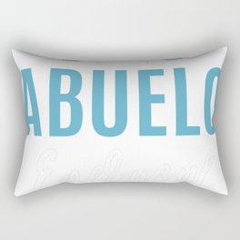 Crazy-Abuelo Rectangular Pillow