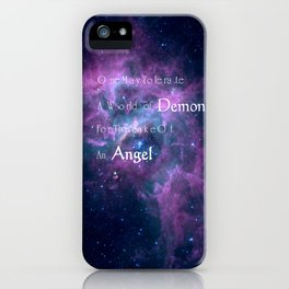 Doctor Who- The Girl In The Fireplace iPhone Case