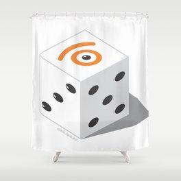 d.eye.ce Shower Curtain