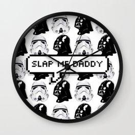 Slap me daddy Wall Clock