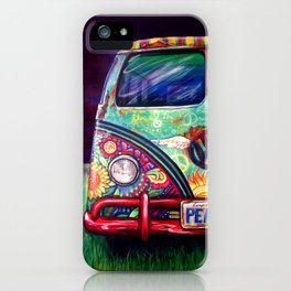 Peacemobile- by Kerian Babbitt Massey iPhone Case