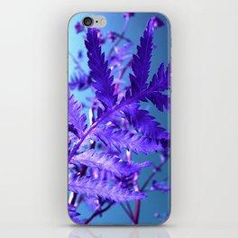 violet leaf IX iPhone Skin