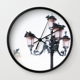 San Marco Lamp Wall Clock