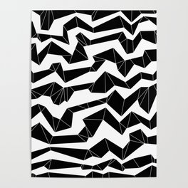 Polynoise Origami Poster
