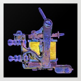Machine seven Art Print