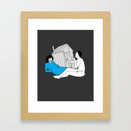 "OMGWTFBBQ!: ""Hallucin Oasis"" Framed Art Print"