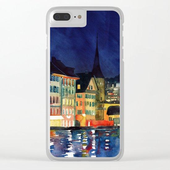 Lucerne Clear iPhone Case