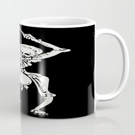Zombie Undead Skeleton Marching and Beating A Drum  Coffee Mug