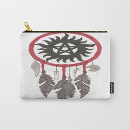 Supernatural  Anti-Possession Dreams Carry-All Pouch