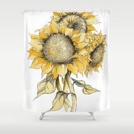 Sunflowers Duschvorhang