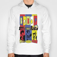 bebop Hoodies featuring Bebop radio  by whatdavedoes