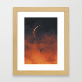 Silent Moon Framed Art Print