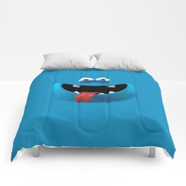 Blue monster Comforters