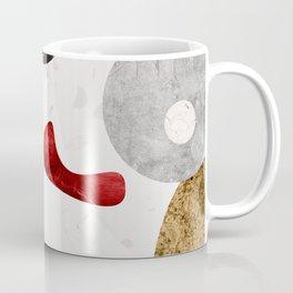 MARBLE SPHERE GALAXY GOLD RED GREY Coffee Mug