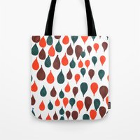 baloon Tote Bags featuring Baloon by kartalpaf