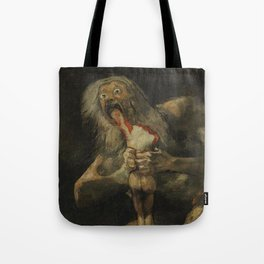 Saturn Devouring His Son - Goya Tote Bag