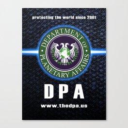 DPA est. 2001 Canvas Print