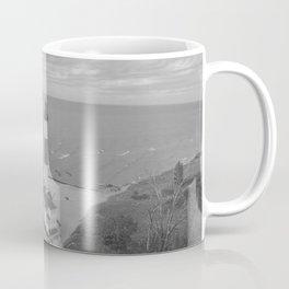 Black and White Lighthouse Coffee Mug