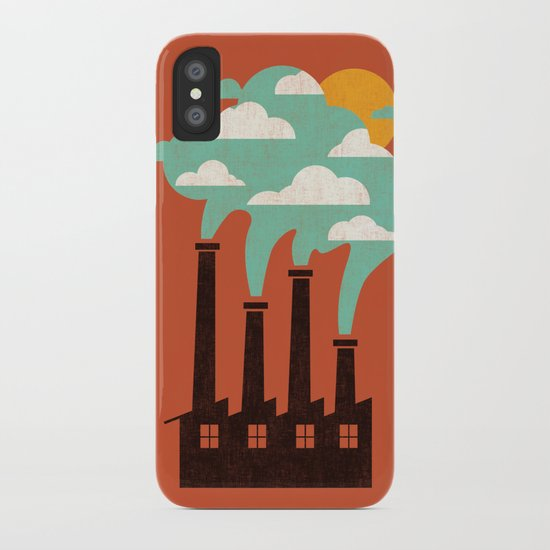 The Cloud Factory iPhone Case