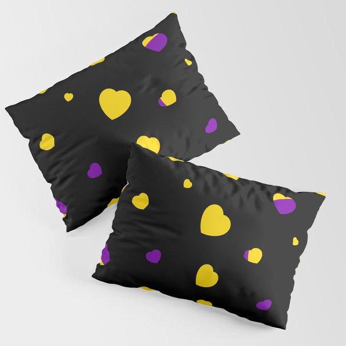 Chaotic Hearts, Pride Flag Series: Intersex Pillow Sham
