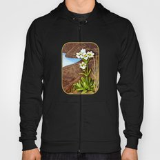High Country Gentian Flower Hoody