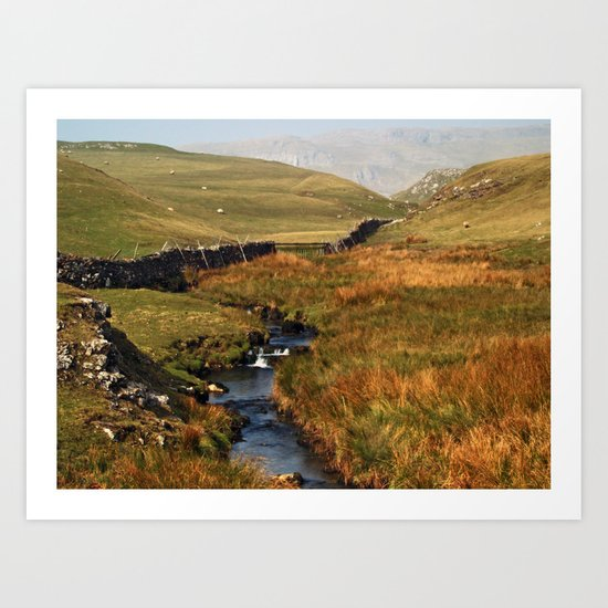 Scaleber Beck Art Print