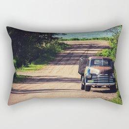 The Farm Truck Rectangular Pillow