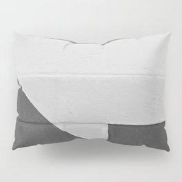 Arrow (Black and White) Pillow Sham