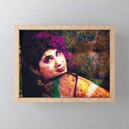 Megan Framed Mini Art Print
