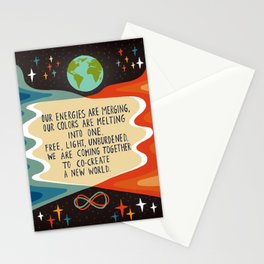 Co-creating a new world Stationery Cards