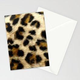Leopard Print Pattern Animal Print Design Stationery Cards