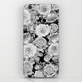 ROSES ON DARK BACKGROUND iPhone Skin