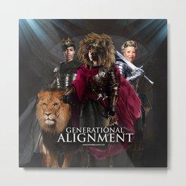 Generational Alignment 5780 Metal Print